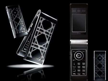 Cellulare Dior Phone Diamonds Glorious Black