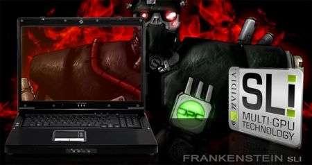 Notebook DPC Frankenstein Clevo D901C: mostruoso!