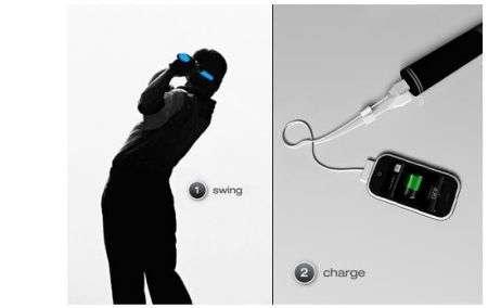 iPhone: carica la batteria giocando a Golf