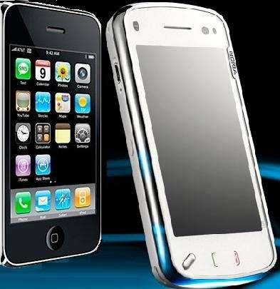 Nokia N97 vs iPhone 3G