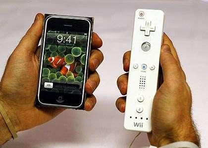 Wiimote, Balance Board e iPhone per guidare!