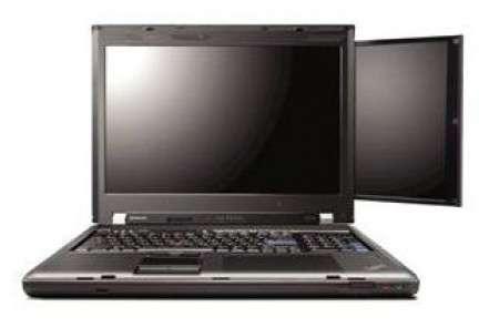 Portatile Lenovo W700ds doppio schermo