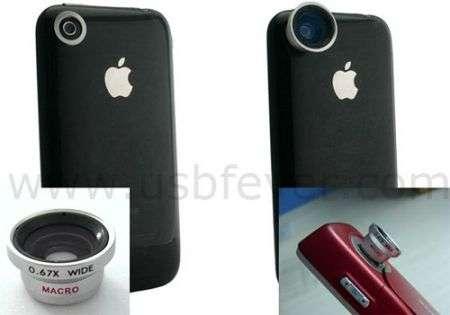 iPhone: lenti aggiuntive per la fotocamera