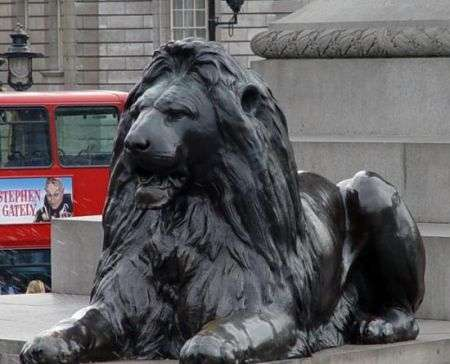Il Leone parlante di Trafalgar Square