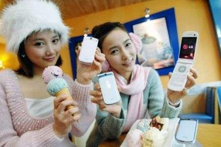 LG Icecream 2: cellulare cremoso