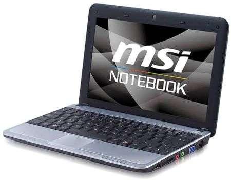 Netbook MSI U115 Hybrid con HDD/SSD