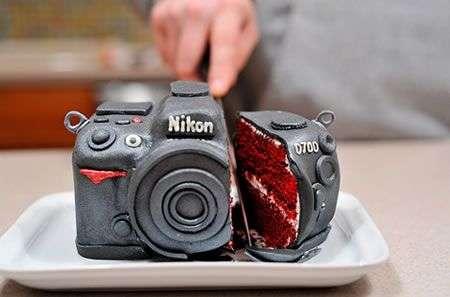 Nikon D700 torta!