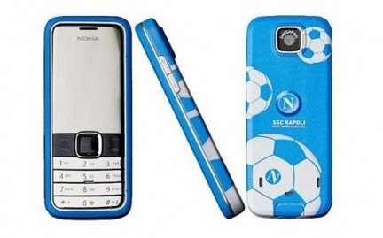 Nokia 7310 Supernova: il cellulare del Napoli