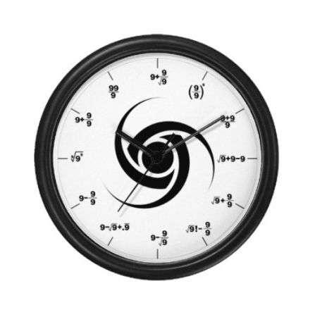 Orologi per veri matematici