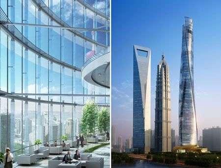 Shanghai Tower: il grattacielo cinese più alto e green