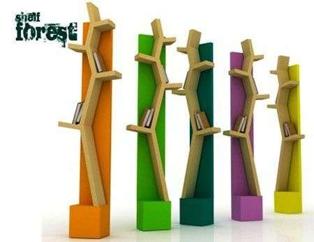 Shelf Forest, la libreria diventa una foresta