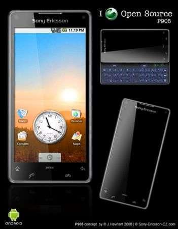 Concept Sony Ericsson T903, P912, P905, P902 e W905