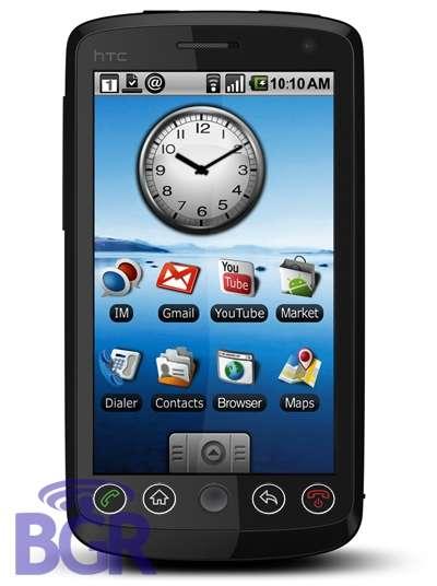 Android G2 sarà Full Touchscreen?