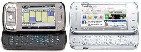 Nokia N97 vs HTC Tytn II