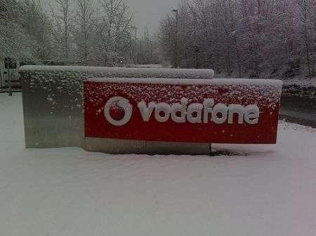 Vodafone Christmas Card Parole e Messaggi 2008