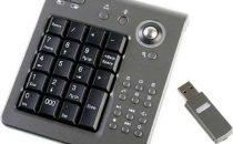 Tastierino numerico wireless con mouse integrato