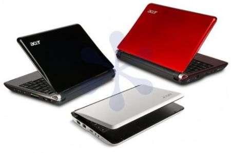 Acer Aspire One 10 pollici: i dettagli svelati