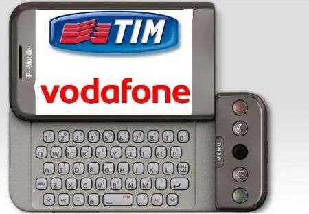 Android G1 con Tim o Vodafone quest'estate