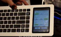 Asus Eee Keyboard con touchscreen integrato
