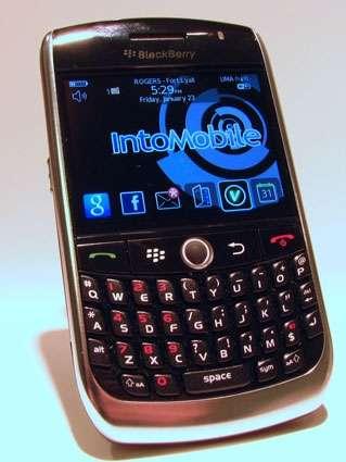 Blackberry 8900 Curve il 28 Gennaio