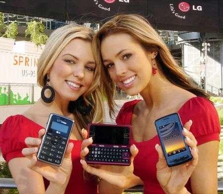 LG: terzo produttore di cellulari nel 2008