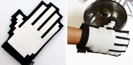 Guanto da forno/puntatore manina