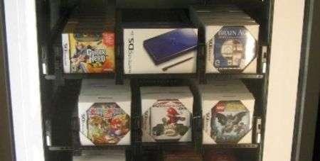 Nintendo DS: distributore automatico all'aeroporto
