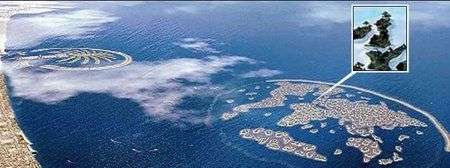 Dubai World Island: isola UK comprata per 45 Milioni