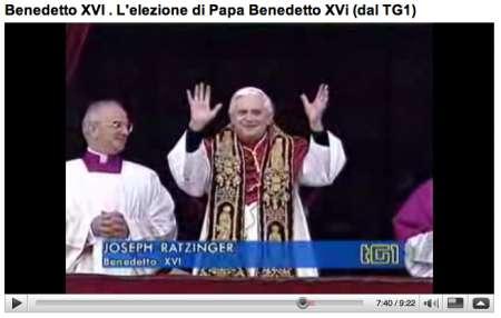 Papa Benedetto XVI: un canale su Youtube