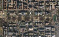 Satellite GeoEye di Google per contare le persone allinsediamento di Obama