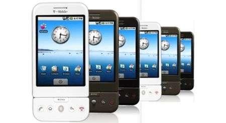 T-Mobile lancerà altri G-Series Android nel 2009