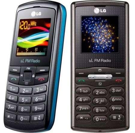 LG GB106 e GB110 entrylevel