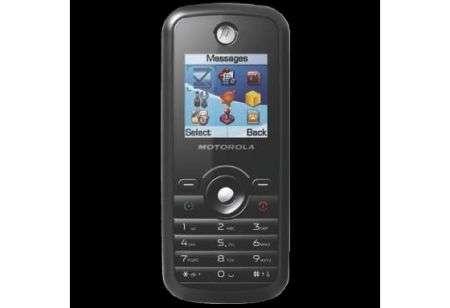 Motorola W165 un nuovo entrylevel