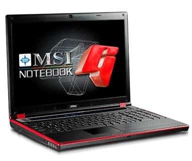 Notebook MSI GT627, gioco a palla