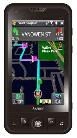 Pharos Traveler 137: ottimo GPS Phone touchscreen