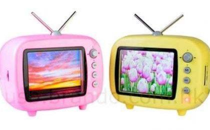 Portafoto digitale a mini TV