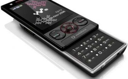 Sony Ericsson W715 Vodafone ufficiale