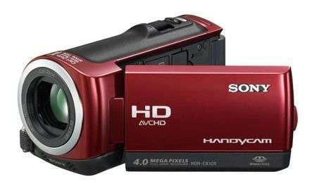 Videocamera Sony HDR-CX120 con 16GB