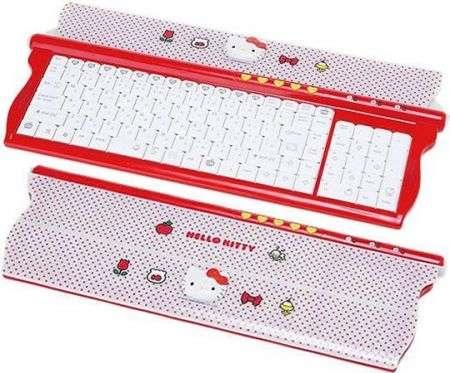 Tastiera Hello Kitty: zuccherosa e un po' geek