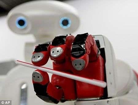 Twendy One, il robot dalla mano fina