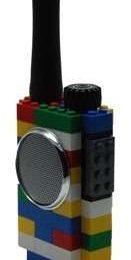 LEGO: annunciati MP3, fotocamere e walkie talkie