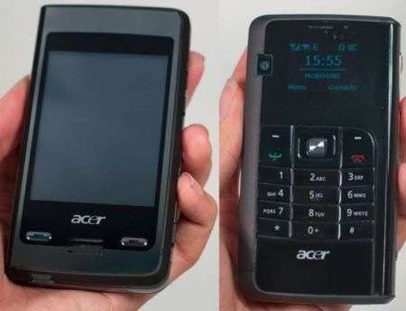 Acer DX650: smartphone double face