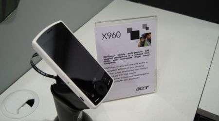 Acer X960 con GPS facile