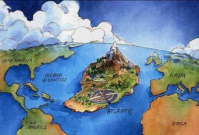 Atlantide su Google Ocean? Sì, di sonar