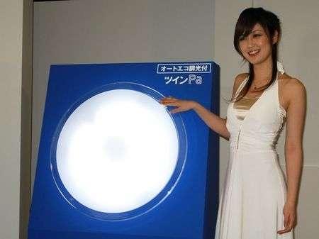 Panasonic: lampada che regola l'illuminazione da sola