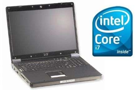 Portatile Clevo D900F con Intel Core i7