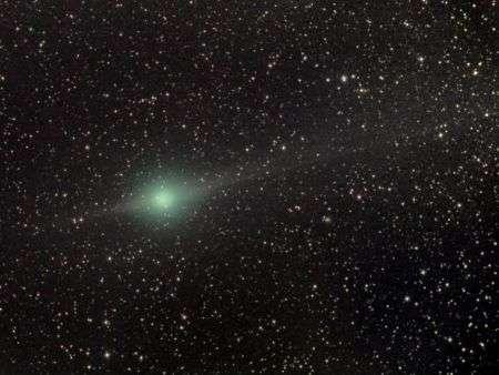 Lulin, la cometa verde