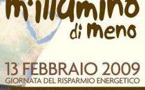 MIllumino di meno: giornata Internazionale del risparmio energetico