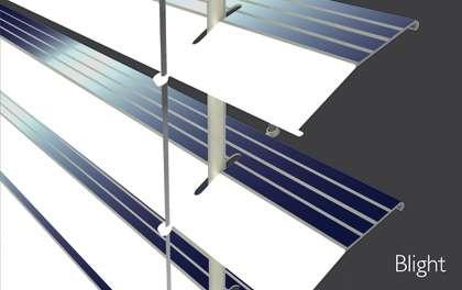 Le veneziane solari Blight