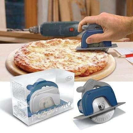 Pizza Pro 3000: affetta con la sega circolare!